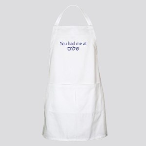 You had me at Shalom BBQ Apron