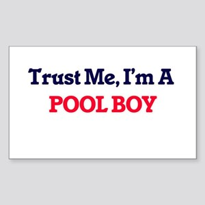 Trust me, I'm a Pool Boy Sticker
