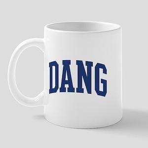 DANG design (blue) Mug