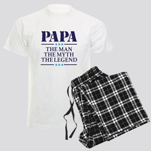 The Man Myth Legend Papa Men's Light Pajamas