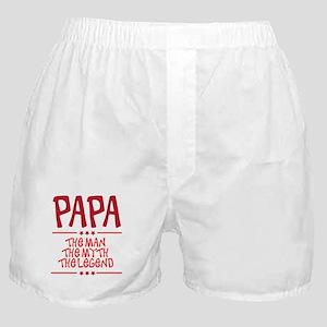 The Man Myth Legend Papa Boxer Shorts