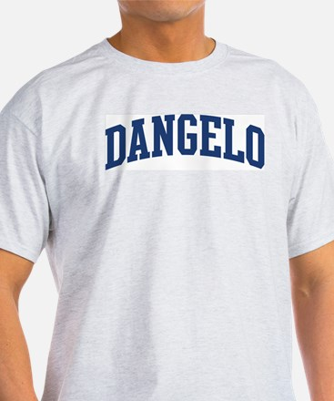 DANGELO design (blue) T-Shirt