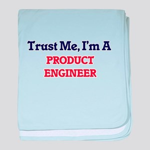Trust me, I'm a Product Engineer baby blanket