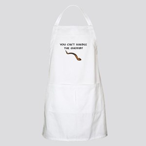 you can't handle the shofar BBQ Apron