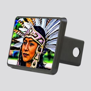 Aztec Priestess Rectangular Hitch Cover