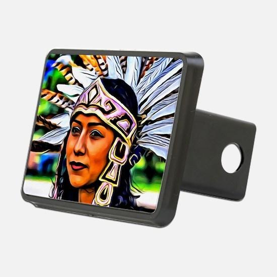 Aztec Priestess Hitch Cover