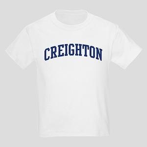 CREIGHTON design (blue) Kids Light T-Shirt