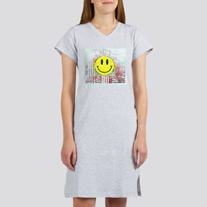 Smiley Face Vintage Women's Nightshirt