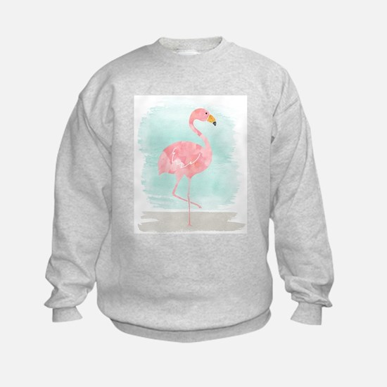 Beach Flamingo Sweatshirt