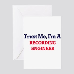 Trust me, I'm a Recording Engineer Greeting Cards