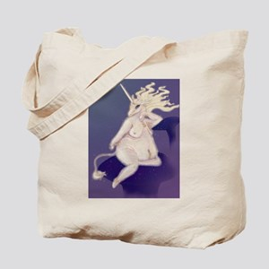 Unicorn Pinup Tote Bag