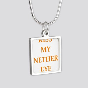 kiss my nether eye Necklaces