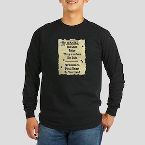 wantedshirt1 Long Sleeve T-Shirt