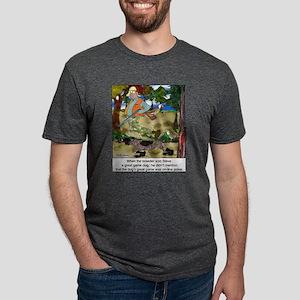 Game Dog Loves Online Poker White T-Shirt