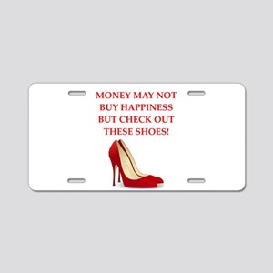 shoes Aluminum License Plate