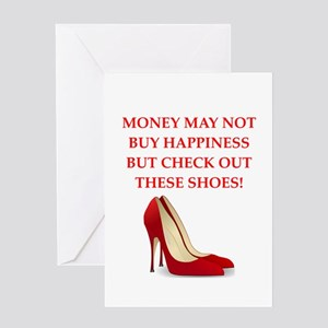 shoes Greeting Cards