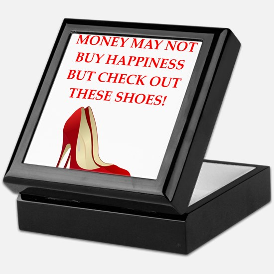 shoes Keepsake Box