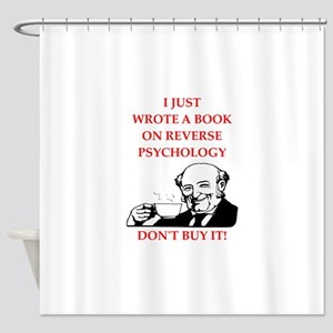 psychology Shower Curtain