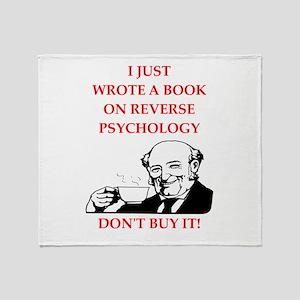 psychology Throw Blanket
