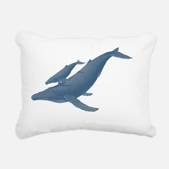 Cute Beluga Rectangular Canvas Pillow