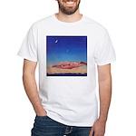 46. her moon..? White T-Shirt