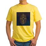 39.chartre labyrinth.. Yellow T-Shirt