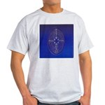 39.chartre labyrinth.. Ash Grey T-Shirt