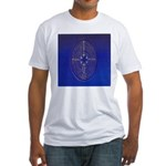 39.chartre labyrinth.. Fitted T-Shirt