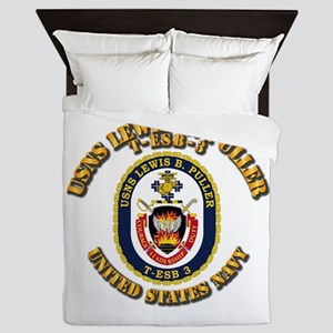 Search And Rescue Swimmer Queen Duvet