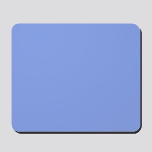 Periwinkle Blue Solid Color Mousepad
