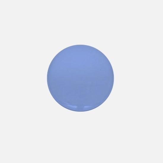 Periwinkle Blue Solid Color Mini Button