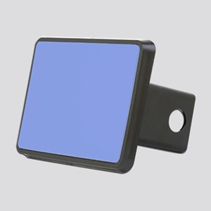 Periwinkle Blue Solid Colo Rectangular Hitch Cover