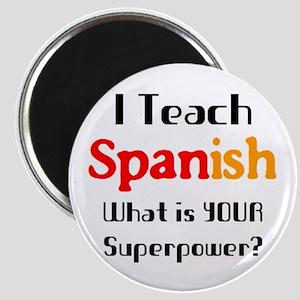 teach spanish Magnet