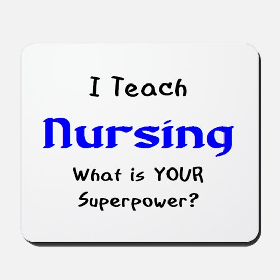 teach nursing Mousepad