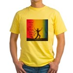 35.how do you love your self..? Yellow T-Shirt