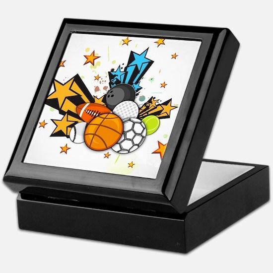 Sports Star Keepsake Box