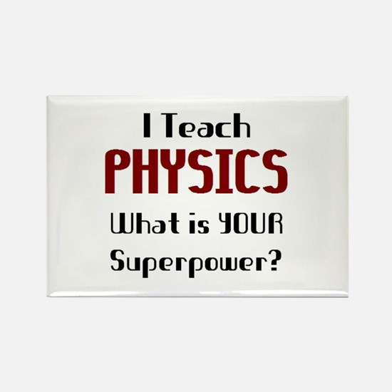 teach physics Rectangle Magnet