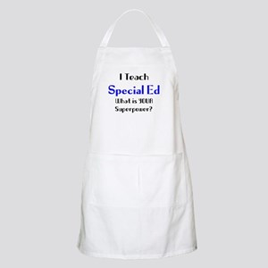 teach special ed Light Apron