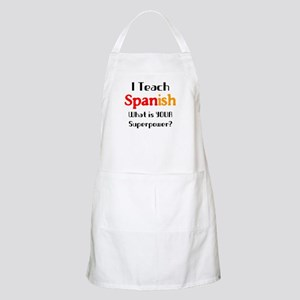 teach spanish Light Apron