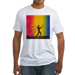 35.how do you love your self..? Fitted T-Shirt