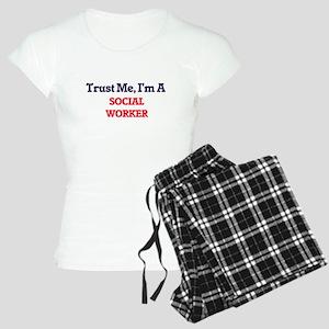 Trust me, I'm a Social Work Women's Light Pajamas