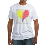 37.love thy self..? Fitted T-Shirt