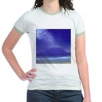 30. little beach view, maui.. Jr. Ringer T-Shirt