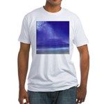 30. little beach view, maui.. Fitted T-Shirt