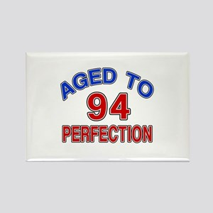 94 Aged To Perfection Rectangle Magnet