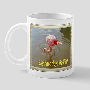 Bad day flamingo Mug