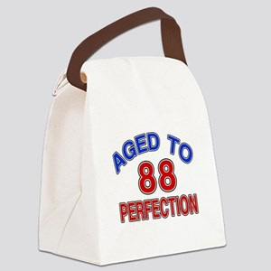 88 Aged To Perfection Canvas Lunch Bag