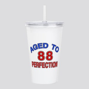 88 Aged To Perfection Acrylic Double-wall Tumbler