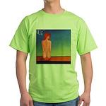 38.self love..? Green T-Shirt
