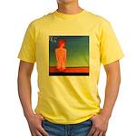 38.self love..? Yellow T-Shirt